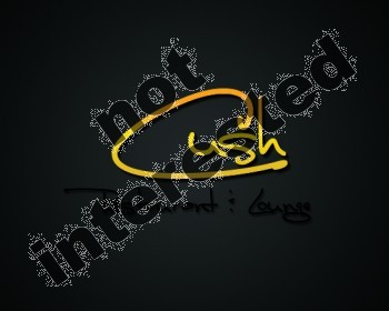 Logo Design by YOiBE1 - Entry No. 69 in the Logo Design Contest Cush Restaurant & Lounge Ltd..