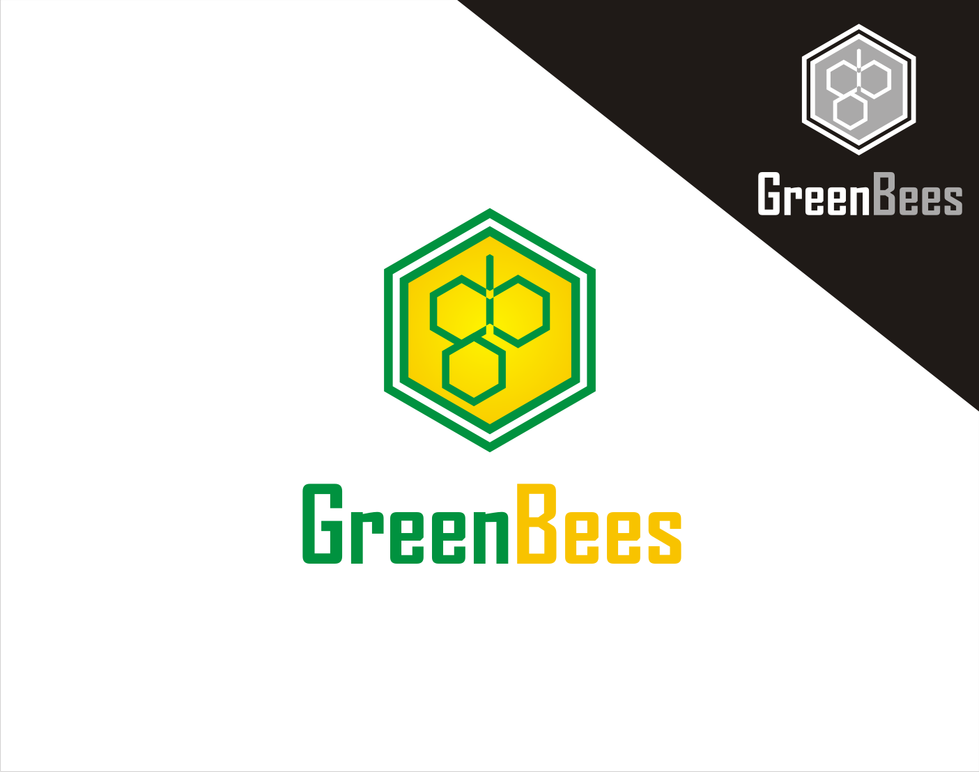 Logo Design by Armada Jamaluddin - Entry No. 327 in the Logo Design Contest Greenbees Logo Design.