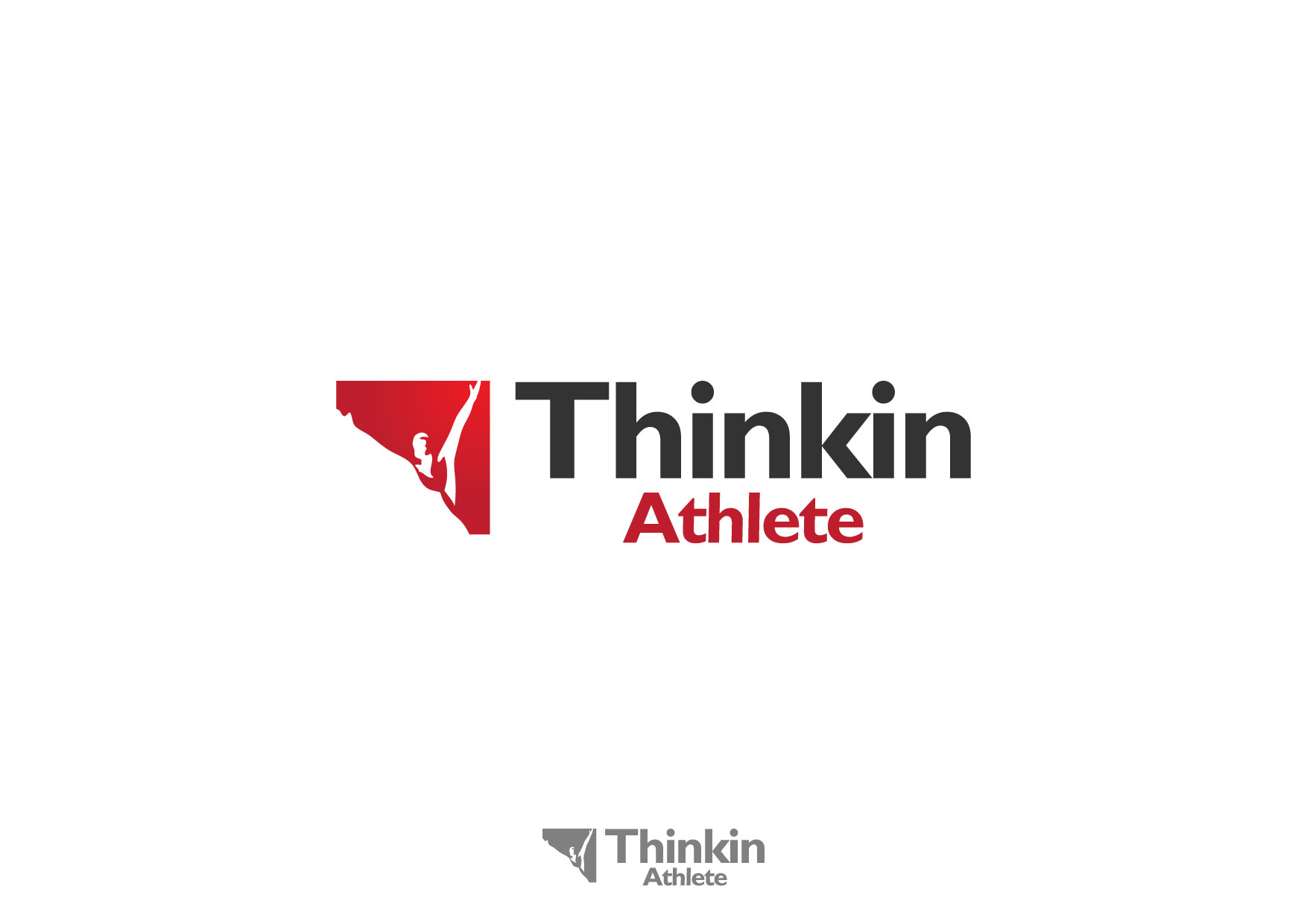 Logo Design by Nurgalih Destianto - Entry No. 52 in the Logo Design Contest Thinking Athlete Logo Design.