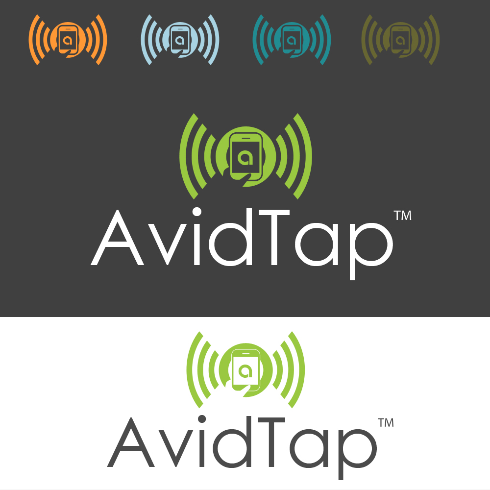 Logo Design by omARTist - Entry No. 81 in the Logo Design Contest Imaginative Logo Design for AvidTap.