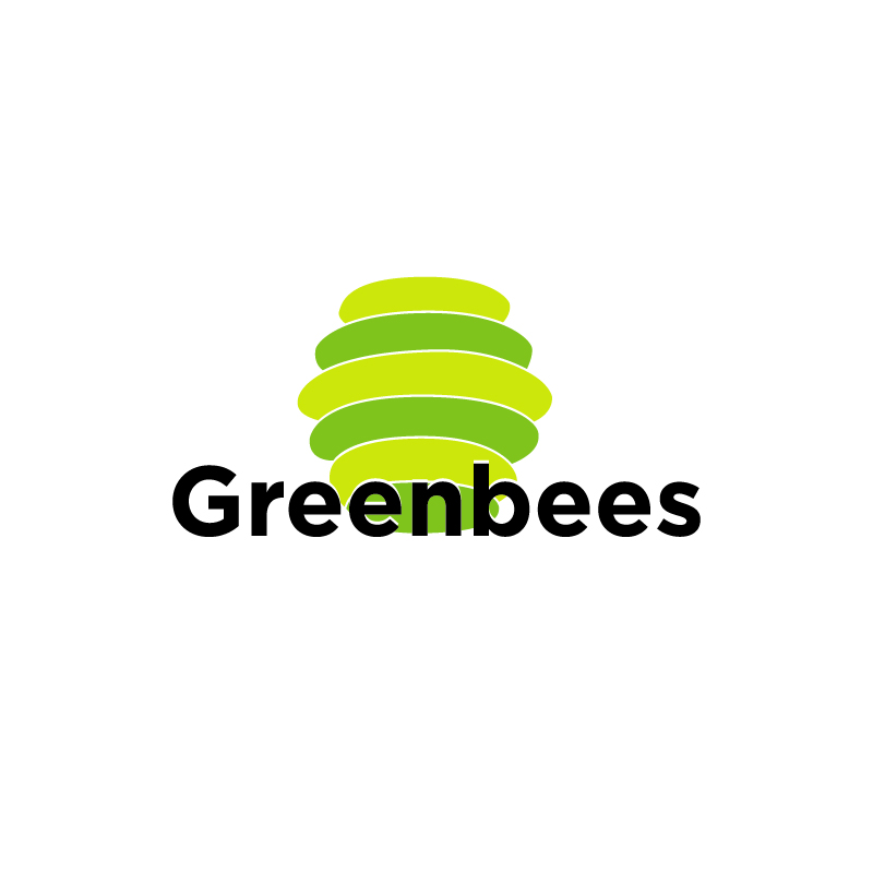 Logo Design by Dan Cristian - Entry No. 331 in the Logo Design Contest Greenbees Logo Design.