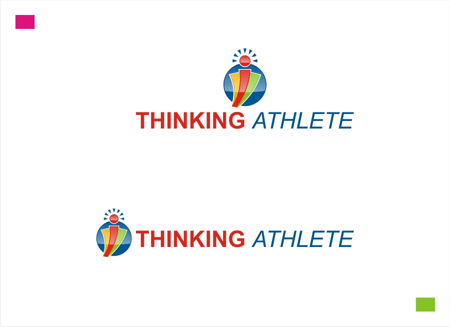 Logo Design by Private User - Entry No. 54 in the Logo Design Contest Thinking Athlete Logo Design.