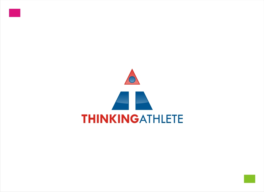 Logo Design by Private User - Entry No. 55 in the Logo Design Contest Thinking Athlete Logo Design.