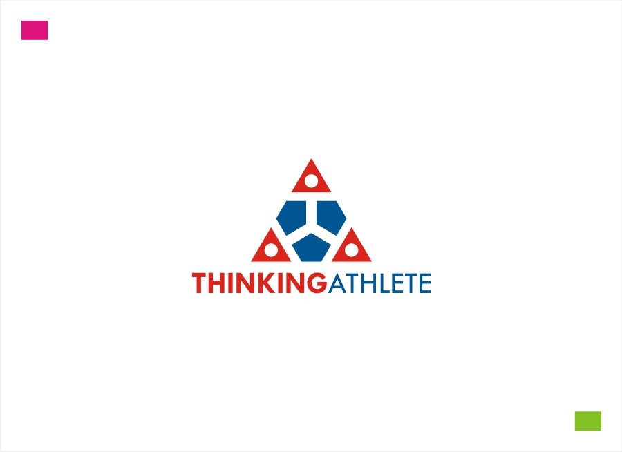 Logo Design by Private User - Entry No. 57 in the Logo Design Contest Thinking Athlete Logo Design.