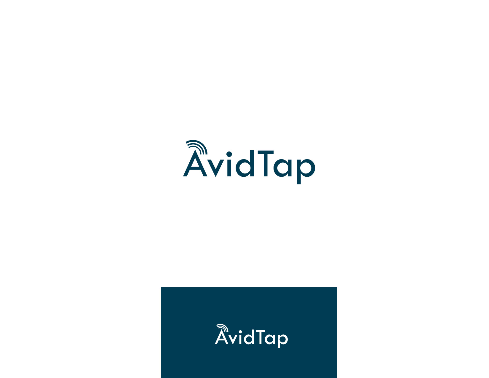Logo Design by Osi Indra - Entry No. 87 in the Logo Design Contest Imaginative Logo Design for AvidTap.
