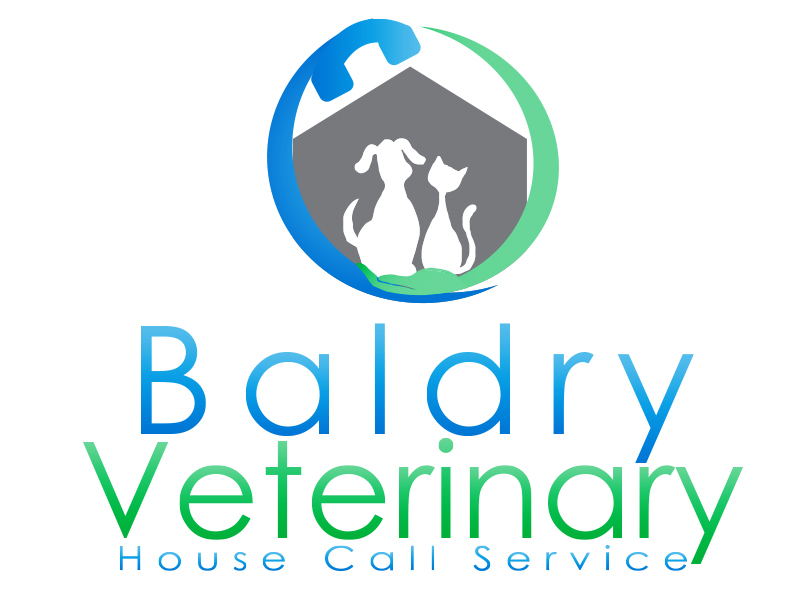 Logo Design by Mythos Designs - Entry No. 147 in the Logo Design Contest Captivating Logo Design for Baldry Veterinary House Call Service.