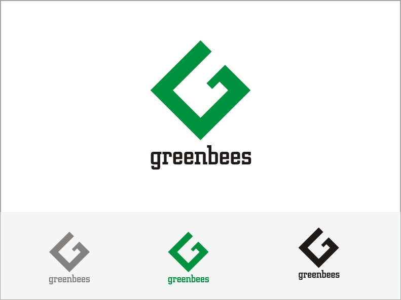 Logo Design by RED HORSE design studio - Entry No. 332 in the Logo Design Contest Greenbees Logo Design.