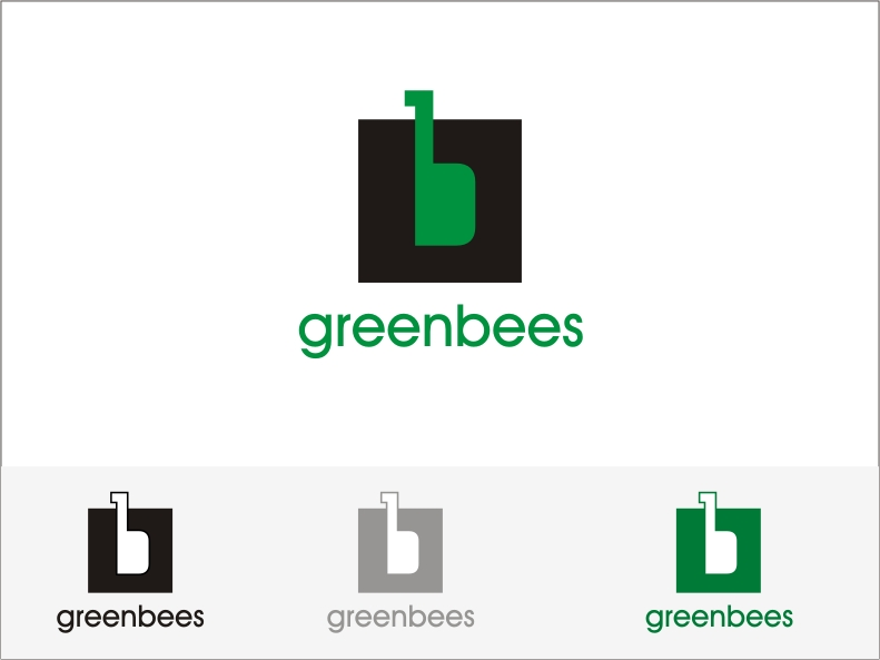 Logo Design by RED HORSE design studio - Entry No. 333 in the Logo Design Contest Greenbees Logo Design.