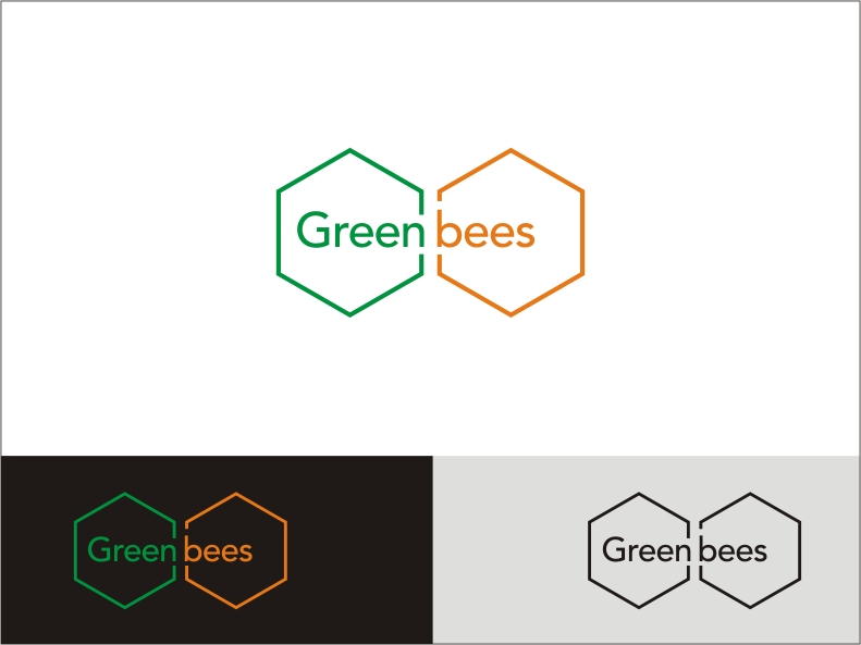 Logo Design by RED HORSE design studio - Entry No. 334 in the Logo Design Contest Greenbees Logo Design.