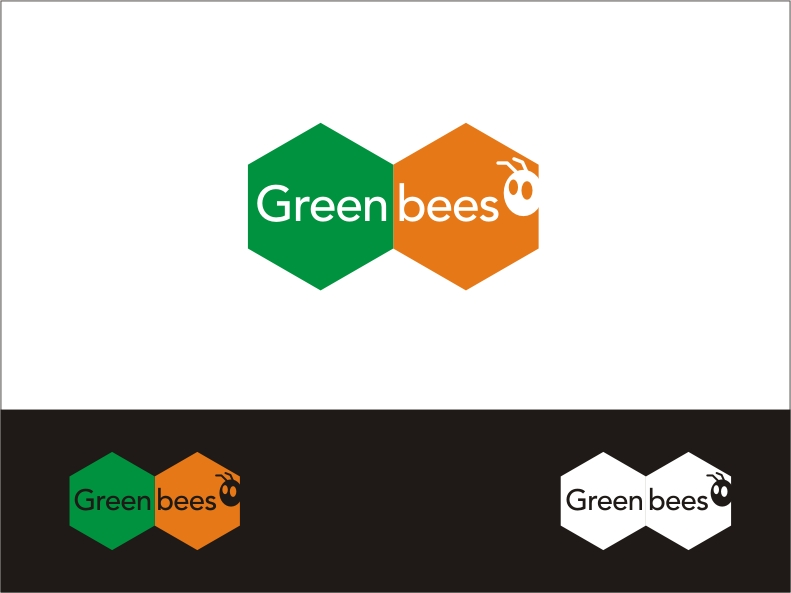 Logo Design by RED HORSE design studio - Entry No. 335 in the Logo Design Contest Greenbees Logo Design.