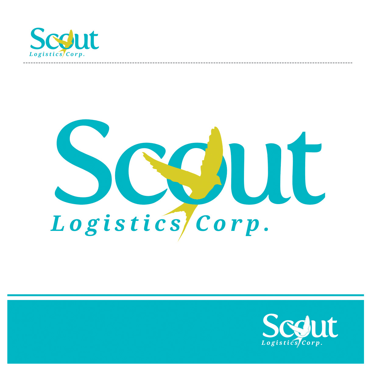 Print Design by Private User - Entry No. 2 in the Print Design Contest Creative Print Design for Scout Logistics Corporation.