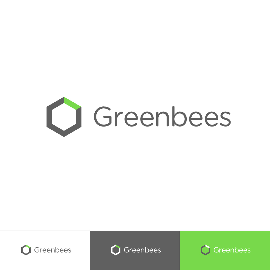 Logo Design by MikeKondrat - Entry No. 336 in the Logo Design Contest Greenbees Logo Design.