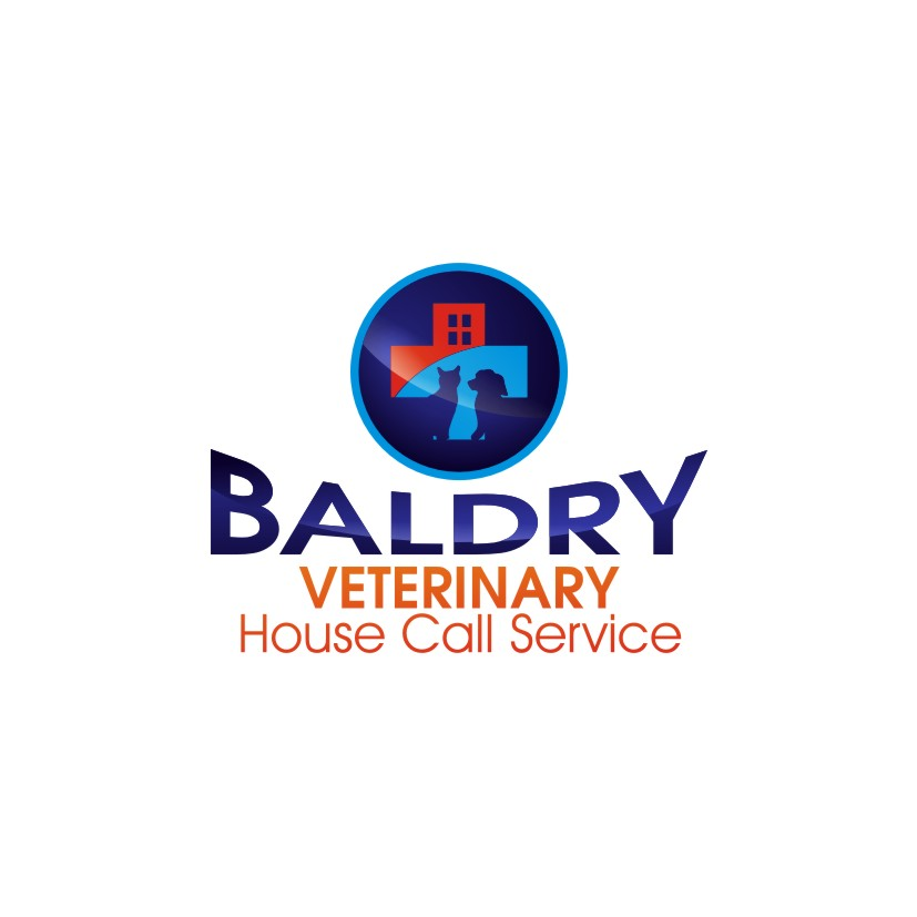 Logo Design by jalal - Entry No. 148 in the Logo Design Contest Captivating Logo Design for Baldry Veterinary House Call Service.