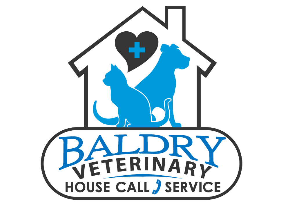 Logo Design by Private User - Entry No. 152 in the Logo Design Contest Captivating Logo Design for Baldry Veterinary House Call Service.