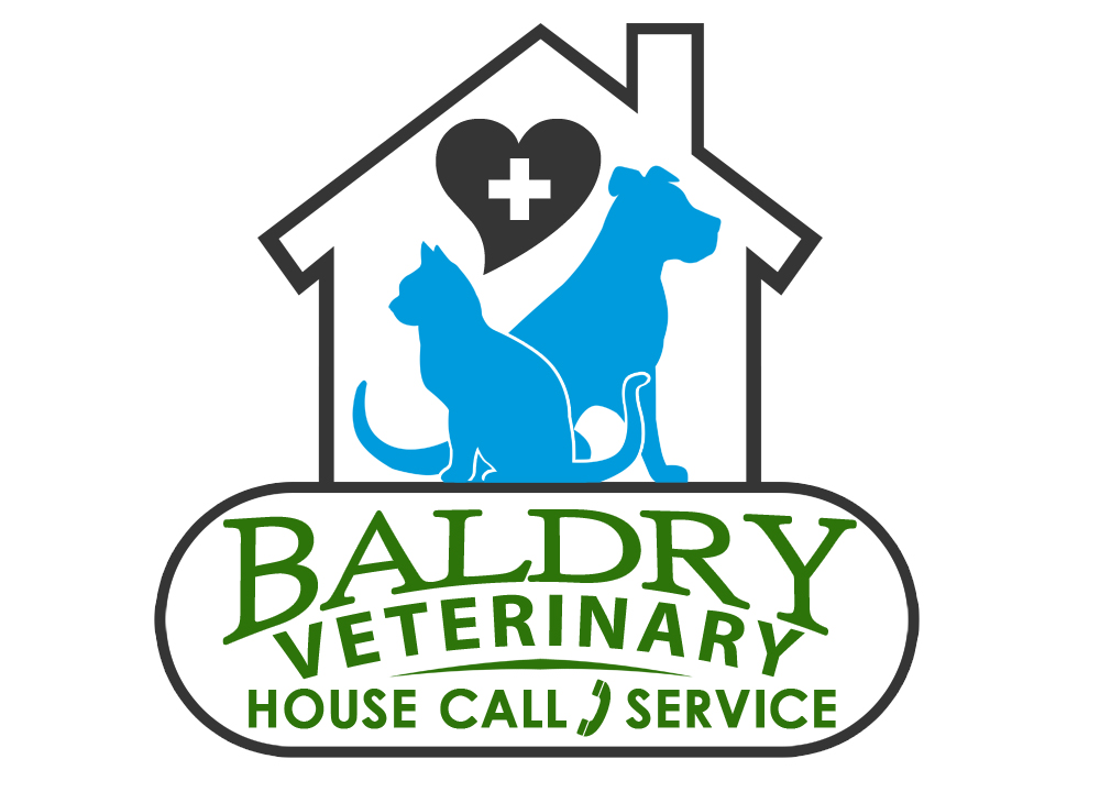 Logo Design by Private User - Entry No. 155 in the Logo Design Contest Captivating Logo Design for Baldry Veterinary House Call Service.