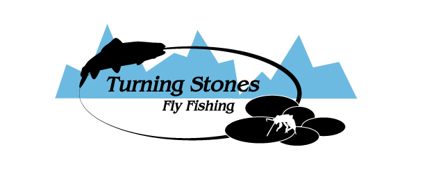 Logo Design by Sarah Hoeppner - Entry No. 20 in the Logo Design Contest New Logo Design for Turning Stones Fly Fishing.
