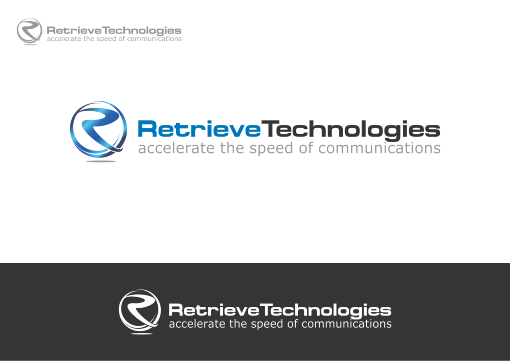 Logo Design by Private User - Entry No. 15 in the Logo Design Contest Artistic Logo Design for Retrieve Technologies.