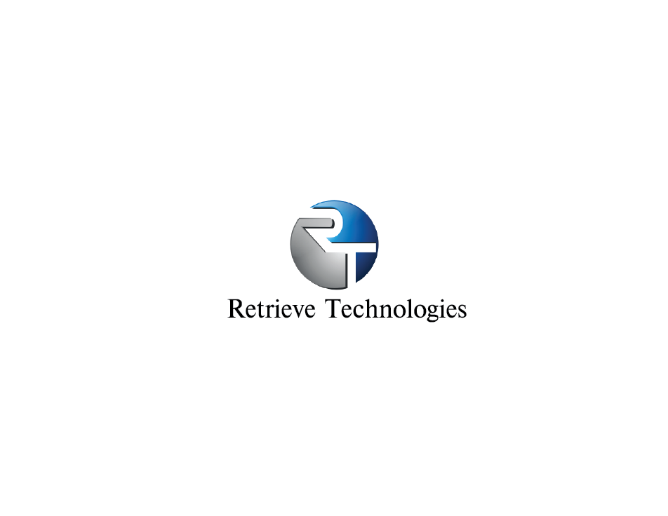 Logo Design by Private User - Entry No. 16 in the Logo Design Contest Artistic Logo Design for Retrieve Technologies.