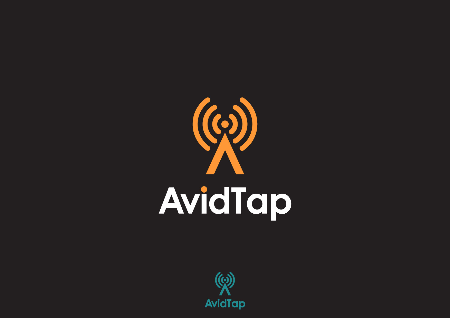 Logo Design by Nurgalih Destianto - Entry No. 98 in the Logo Design Contest Imaginative Logo Design for AvidTap.