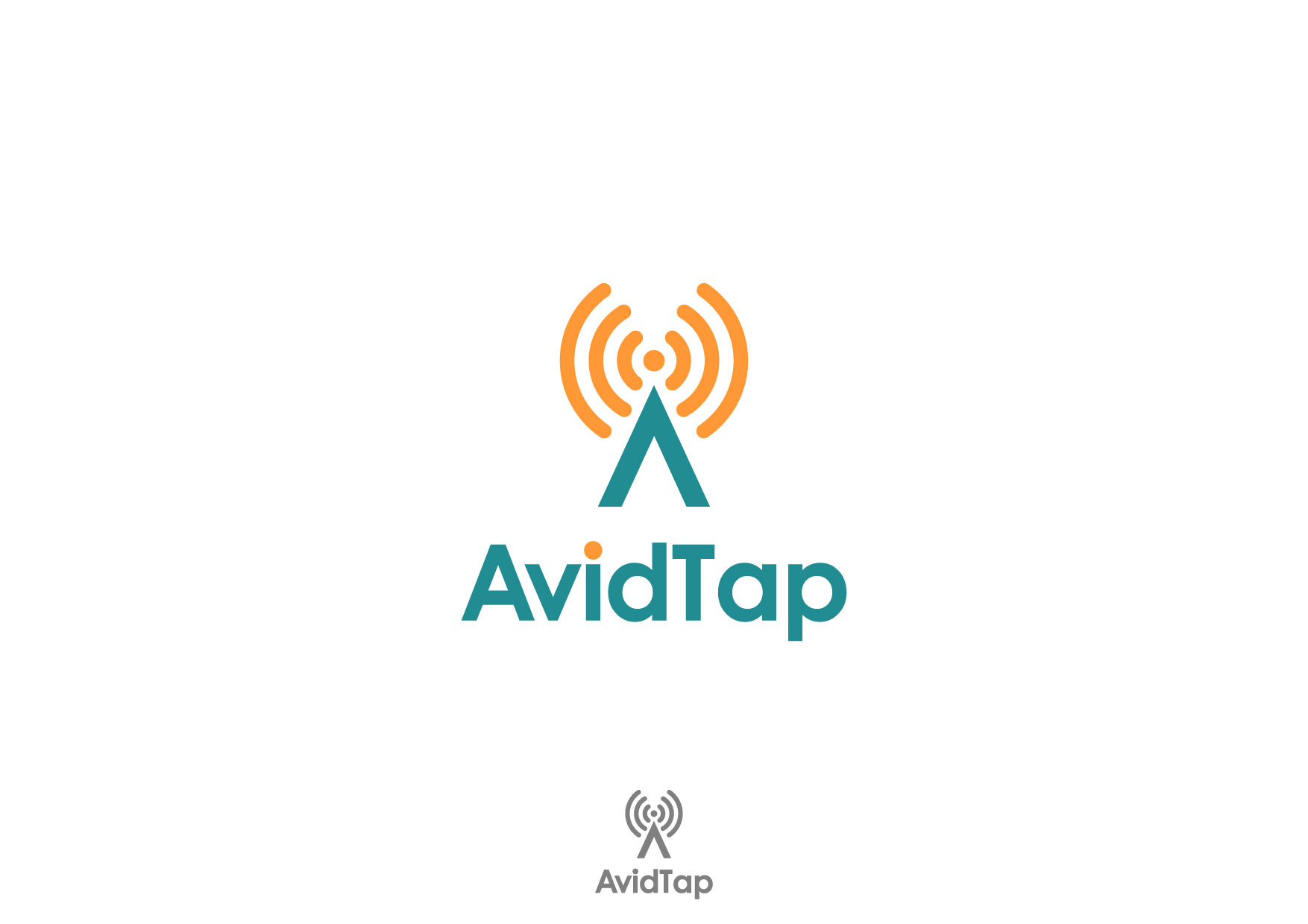 Logo Design by Nurgalih Destianto - Entry No. 99 in the Logo Design Contest Imaginative Logo Design for AvidTap.