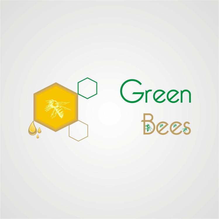 Logo Design by Faiz Mushtaq - Entry No. 338 in the Logo Design Contest Greenbees Logo Design.