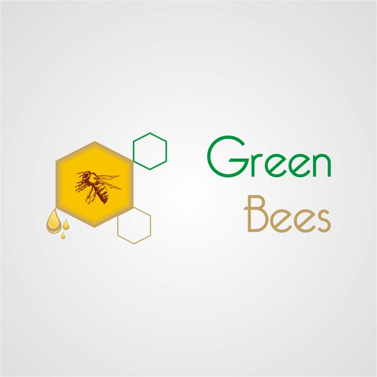 Logo Design by Faiz Mushtaq - Entry No. 339 in the Logo Design Contest Greenbees Logo Design.