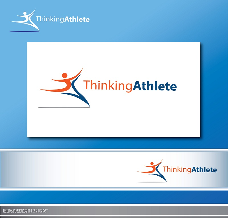 Logo Design by kowreck - Entry No. 69 in the Logo Design Contest Thinking Athlete Logo Design.