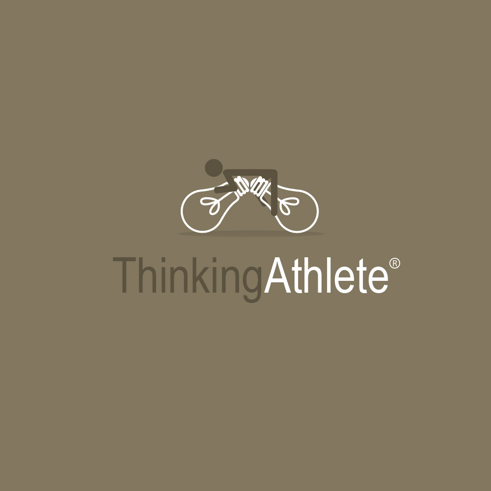 Logo Design by omARTist - Entry No. 71 in the Logo Design Contest Thinking Athlete Logo Design.