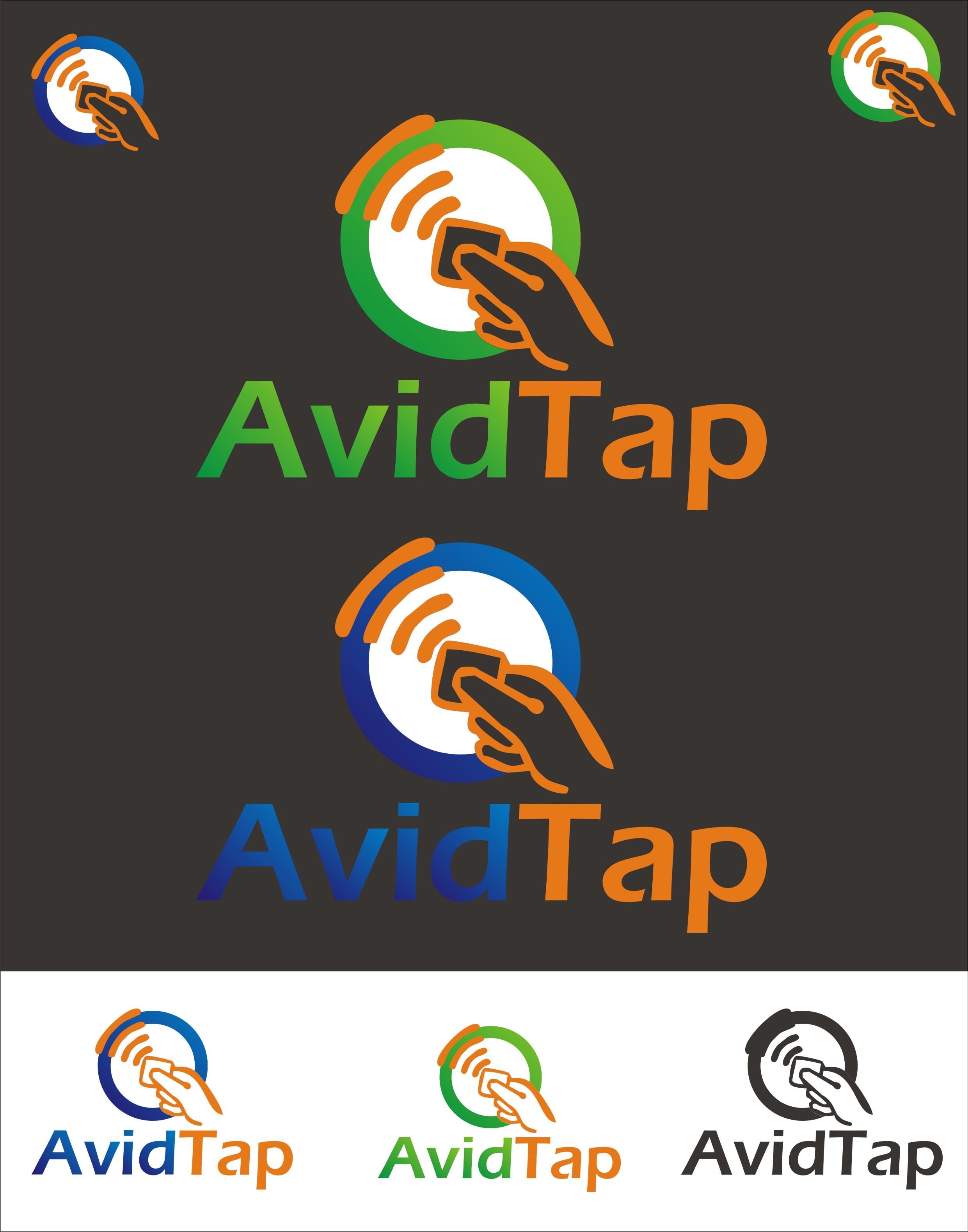 Logo Design by Candra Ardi - Entry No. 102 in the Logo Design Contest Imaginative Logo Design for AvidTap.
