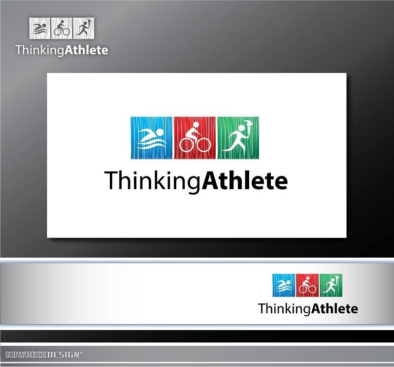 Logo Design by kowreck - Entry No. 72 in the Logo Design Contest Thinking Athlete Logo Design.