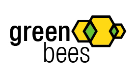 Logo Design by Eleni Papaioannou - Entry No. 346 in the Logo Design Contest Greenbees Logo Design.