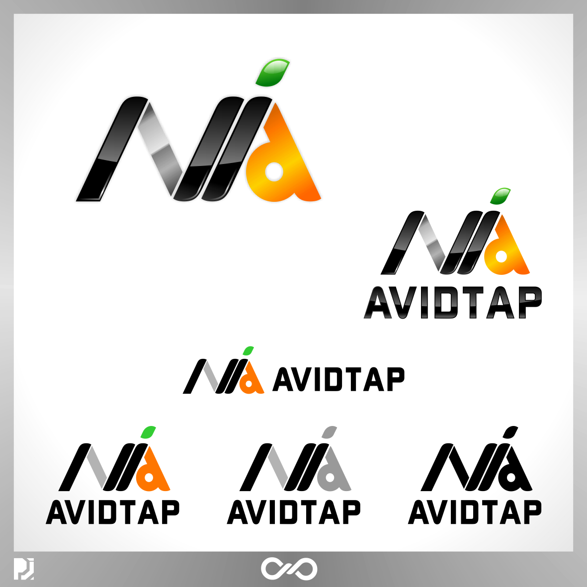 Logo Design by PJD - Entry No. 106 in the Logo Design Contest Imaginative Logo Design for AvidTap.