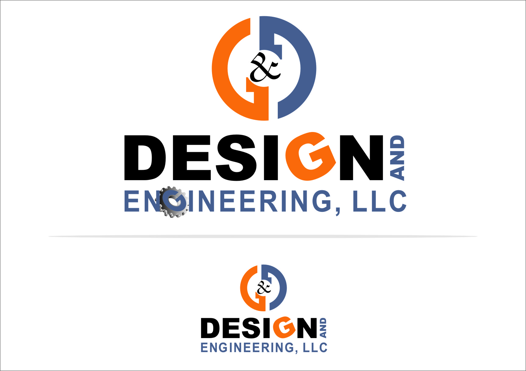 Logo Design by RasYa Muhammad Athaya - Entry No. 65 in the Logo Design Contest Creative Logo Design for G&G Design and Engineering, LLC.
