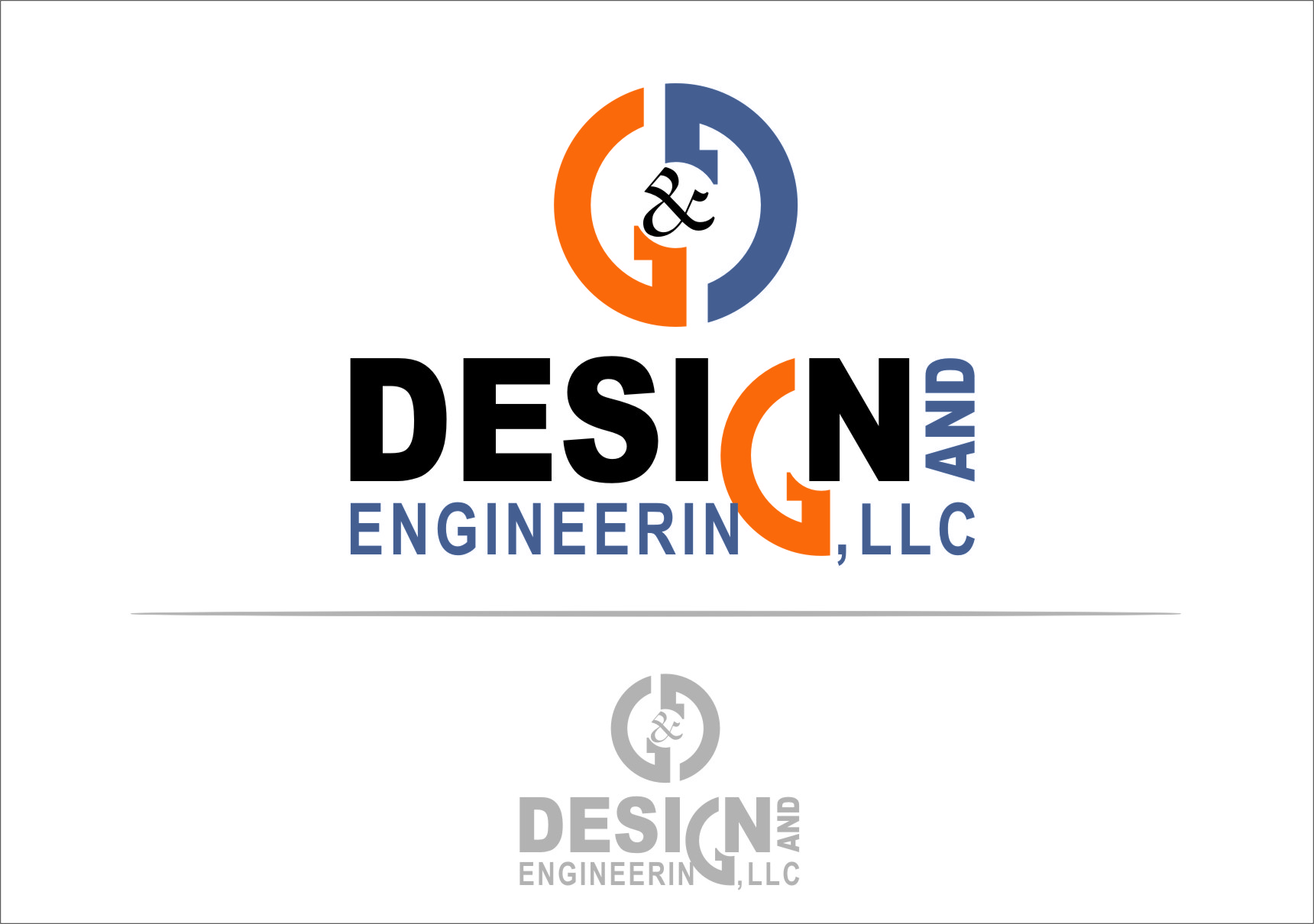 Logo Design by Ngepet_art - Entry No. 66 in the Logo Design Contest Creative Logo Design for G&G Design and Engineering, LLC.