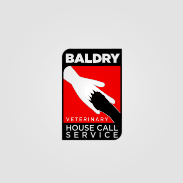 Logo Design by Private User - Entry No. 162 in the Logo Design Contest Captivating Logo Design for Baldry Veterinary House Call Service.