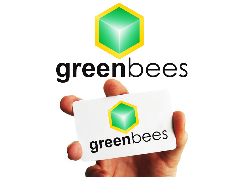 Logo Design by Mythos Designs - Entry No. 352 in the Logo Design Contest Greenbees Logo Design.