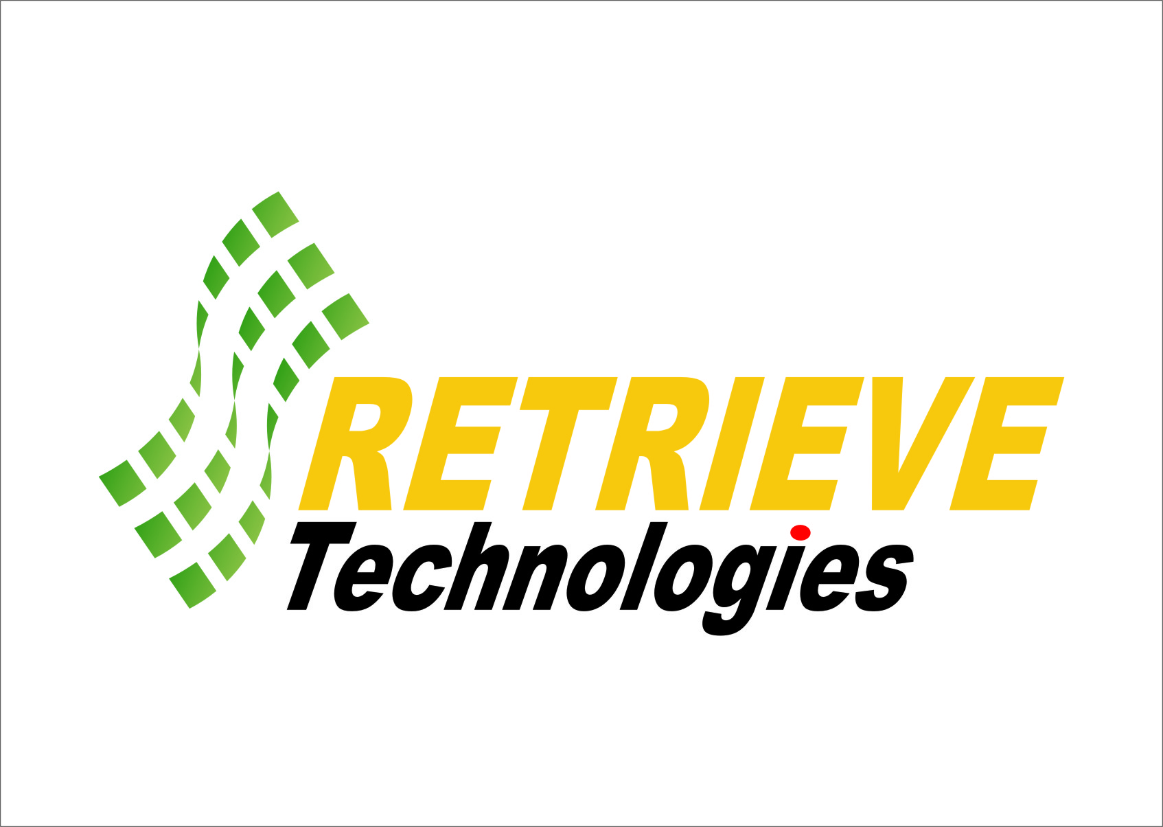 Logo Design by Ngepet_art - Entry No. 20 in the Logo Design Contest Artistic Logo Design for Retrieve Technologies.
