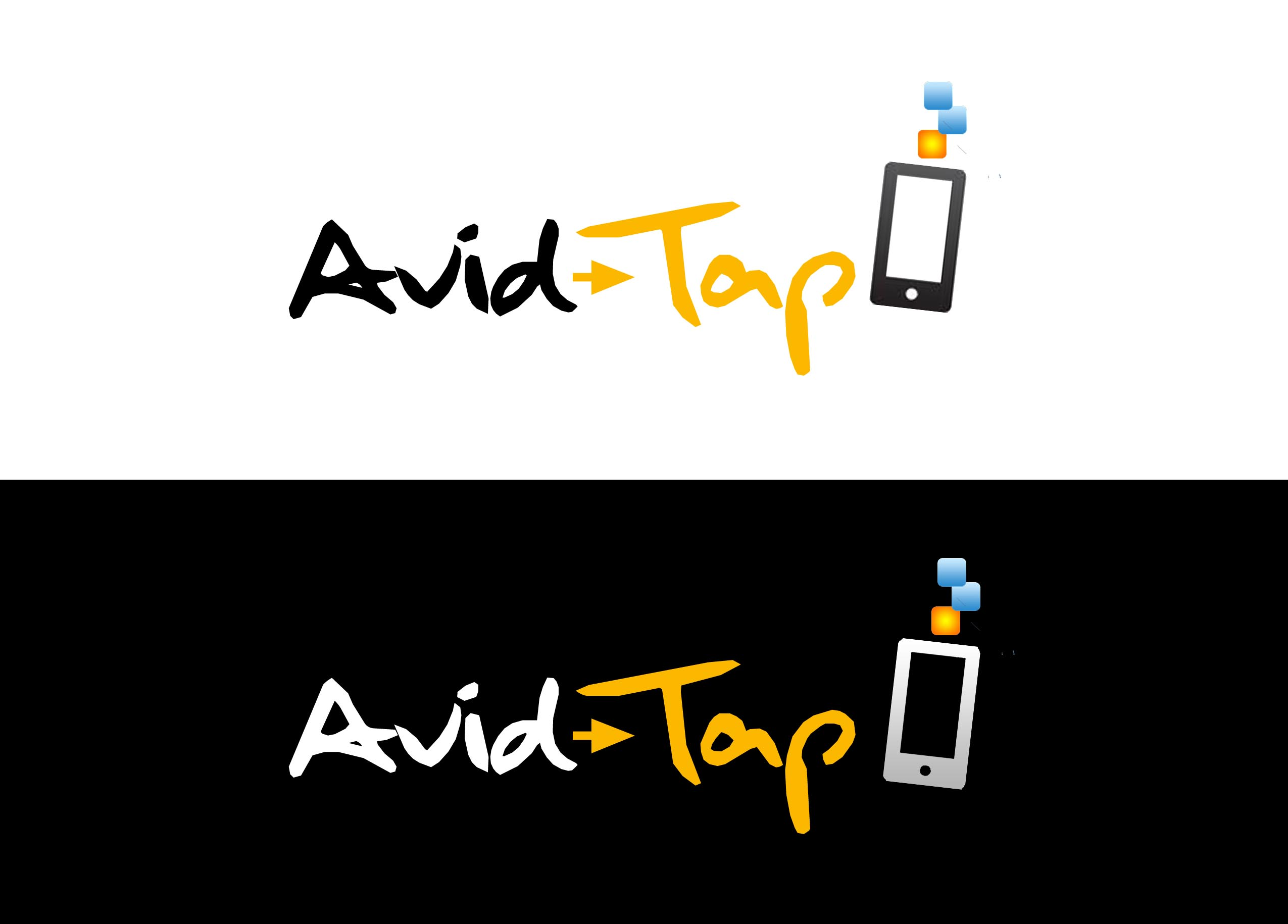 Logo Design by Lama Creative - Entry No. 111 in the Logo Design Contest Imaginative Logo Design for AvidTap.