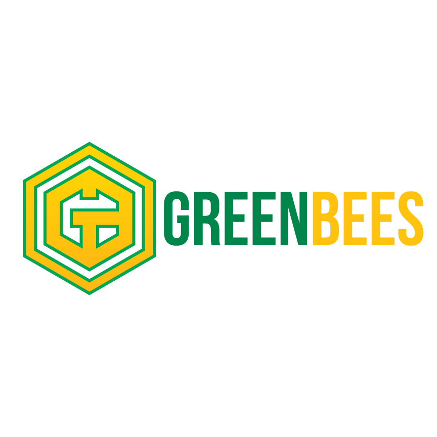 Logo Design by Renz Paulo Fajardo - Entry No. 354 in the Logo Design Contest Greenbees Logo Design.