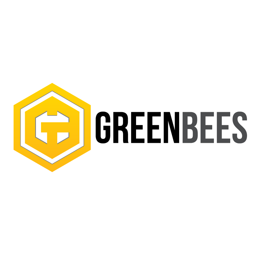 Logo Design by Renz Paulo Fajardo - Entry No. 355 in the Logo Design Contest Greenbees Logo Design.