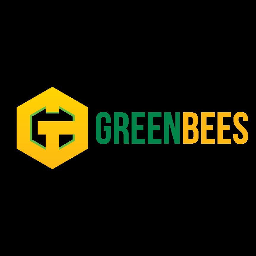 Logo Design by Renz Paulo Fajardo - Entry No. 356 in the Logo Design Contest Greenbees Logo Design.