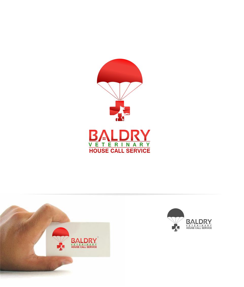 Logo Design by Mitchnick Sunardi - Entry No. 166 in the Logo Design Contest Captivating Logo Design for Baldry Veterinary House Call Service.