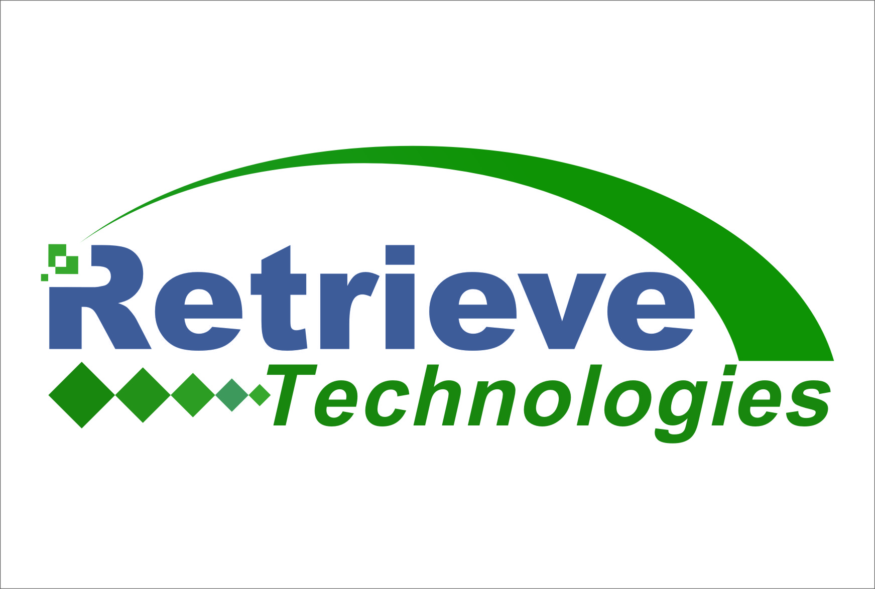 Logo Design by RasYa Muhammad Athaya - Entry No. 24 in the Logo Design Contest Artistic Logo Design for Retrieve Technologies.