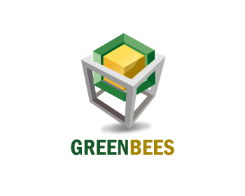 Logo Design by Muhammad Sopandi - Entry No. 360 in the Logo Design Contest Greenbees Logo Design.