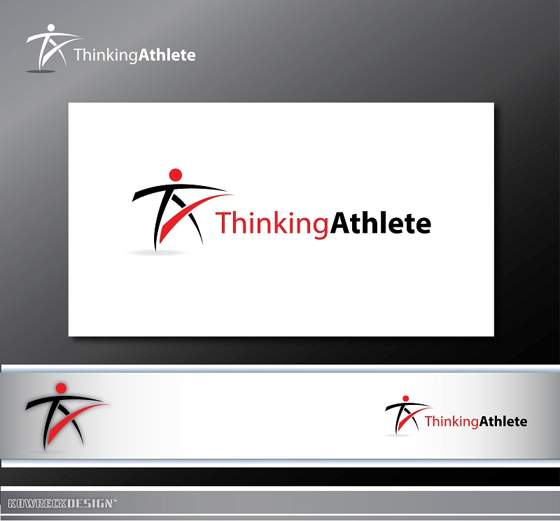 Logo Design by kowreck - Entry No. 73 in the Logo Design Contest Thinking Athlete Logo Design.
