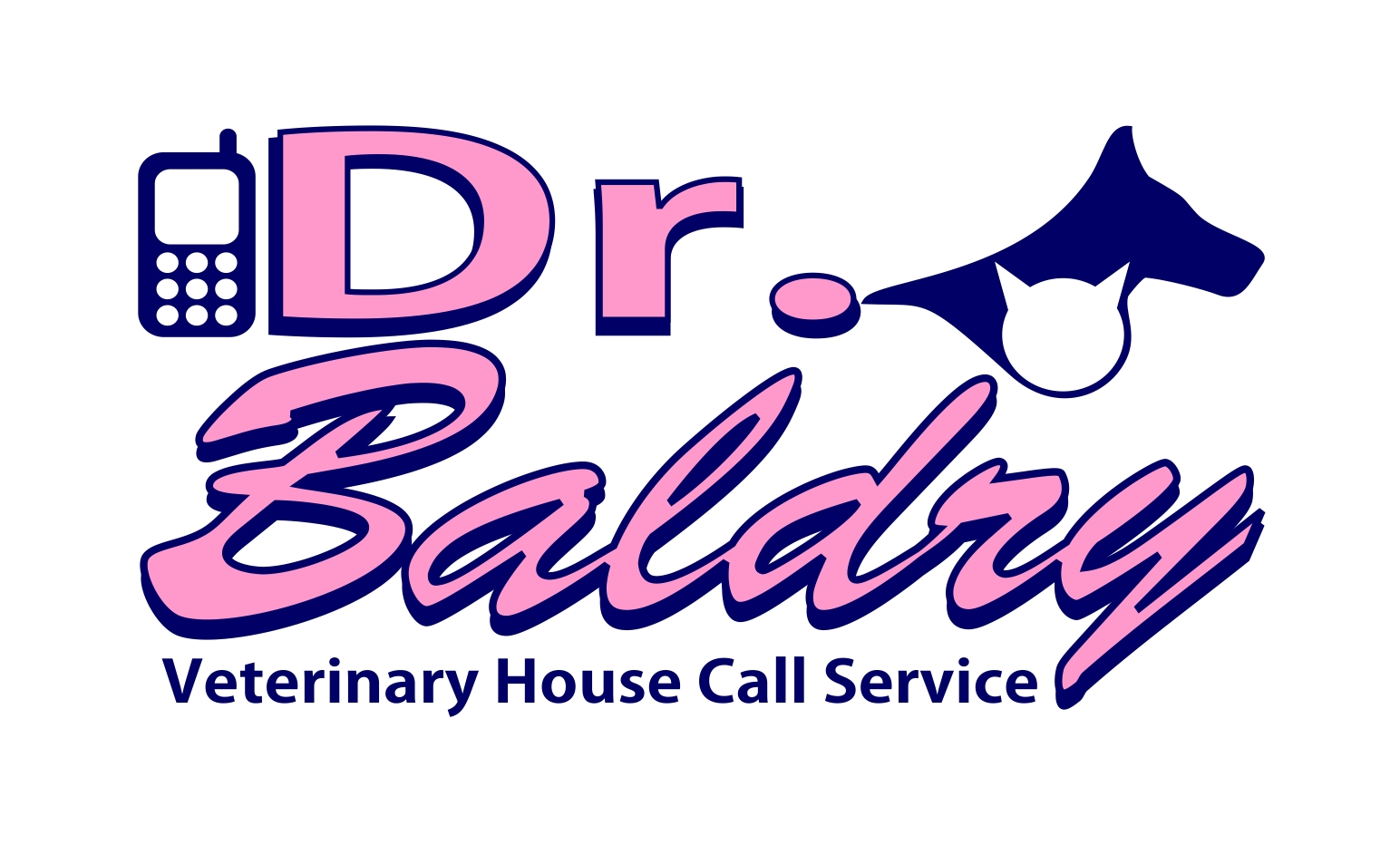 Logo Design by joca - Entry No. 168 in the Logo Design Contest Captivating Logo Design for Baldry Veterinary House Call Service.