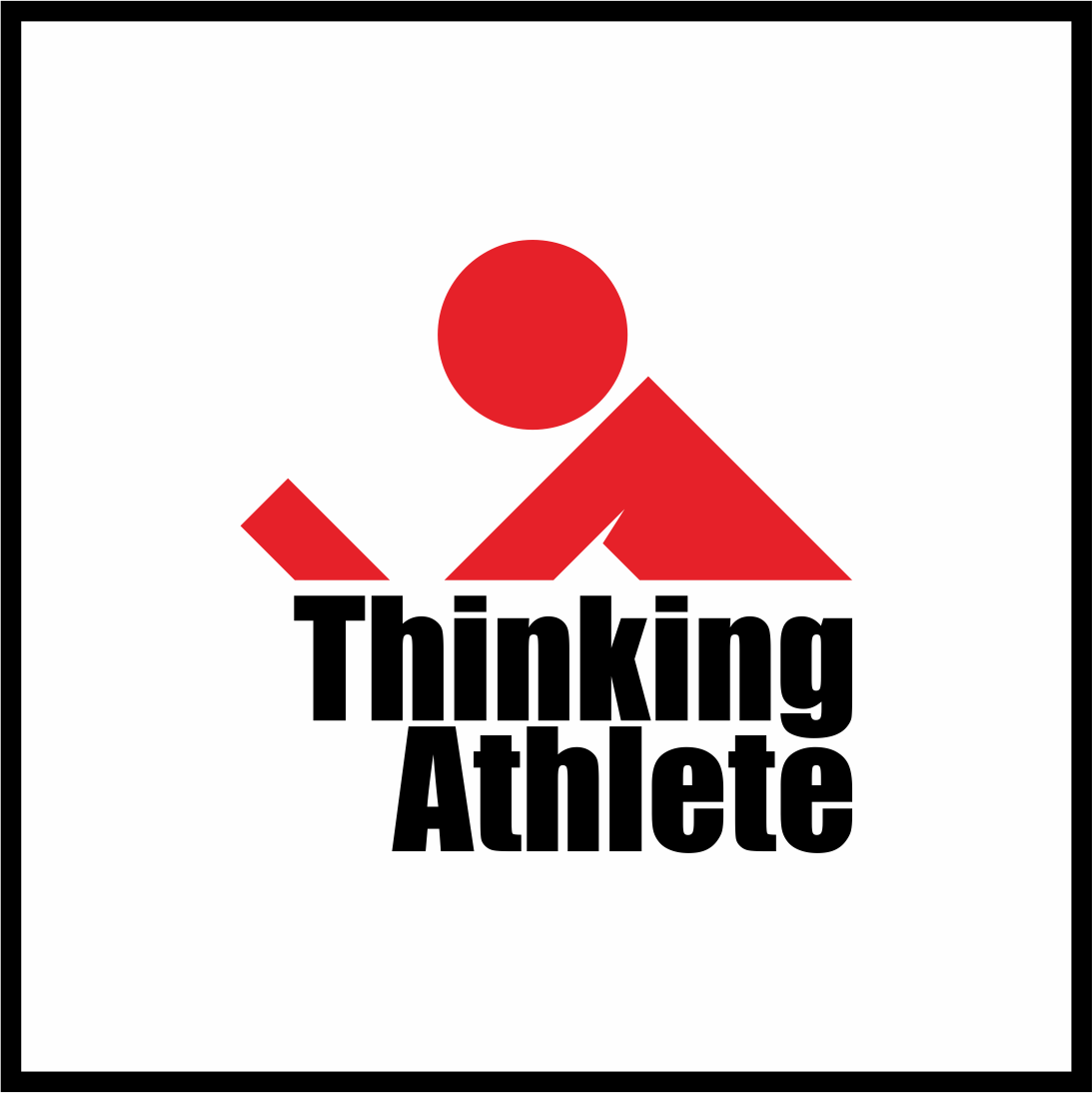 Logo Design by gdfd - Entry No. 74 in the Logo Design Contest Thinking Athlete Logo Design.