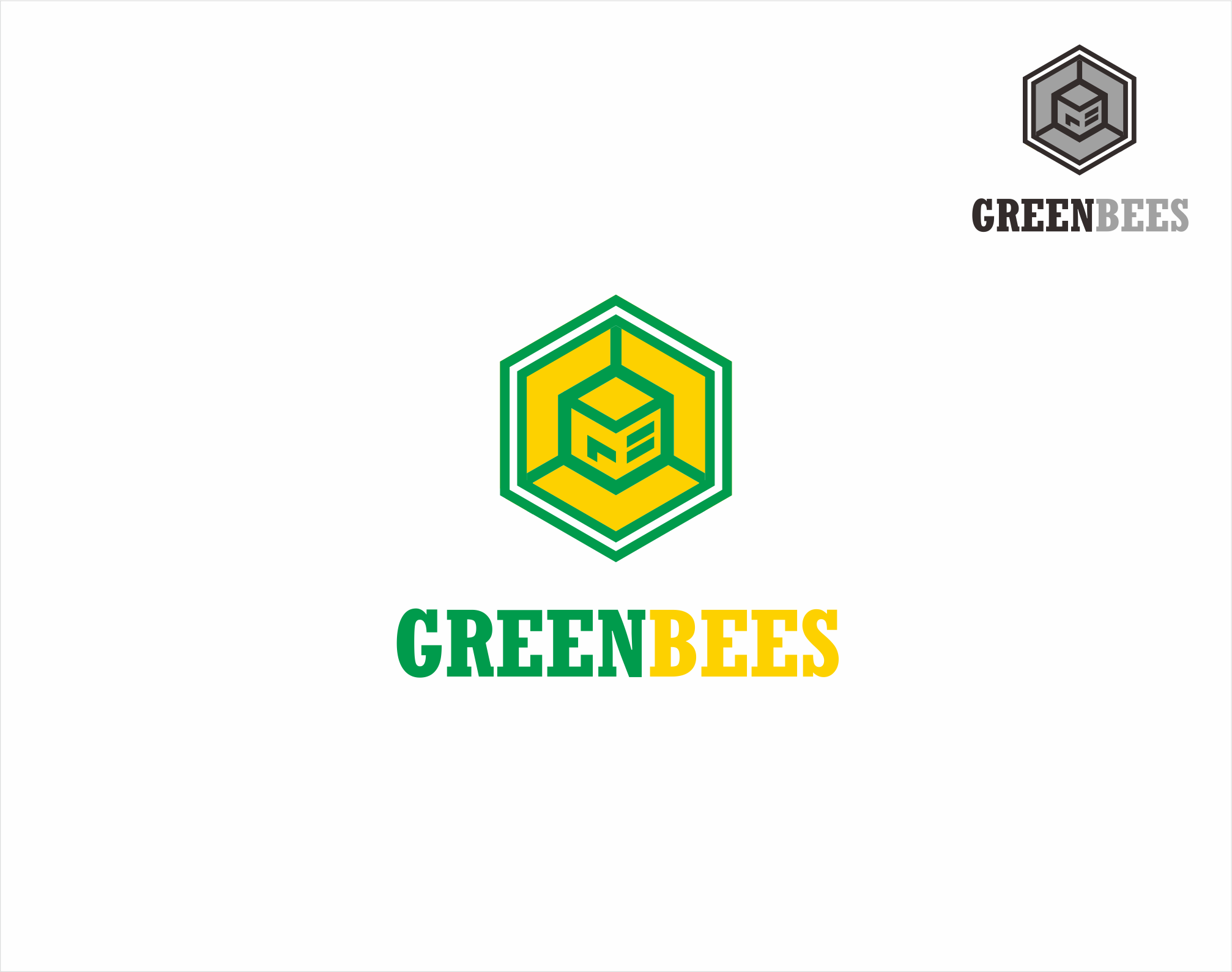 Logo Design by Armada Jamaluddin - Entry No. 364 in the Logo Design Contest Greenbees Logo Design.