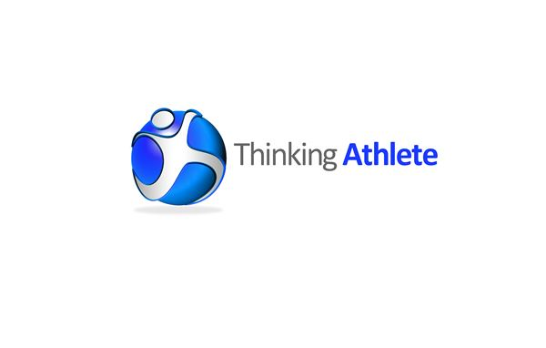 Logo Design by Respati Himawan - Entry No. 76 in the Logo Design Contest Thinking Athlete Logo Design.