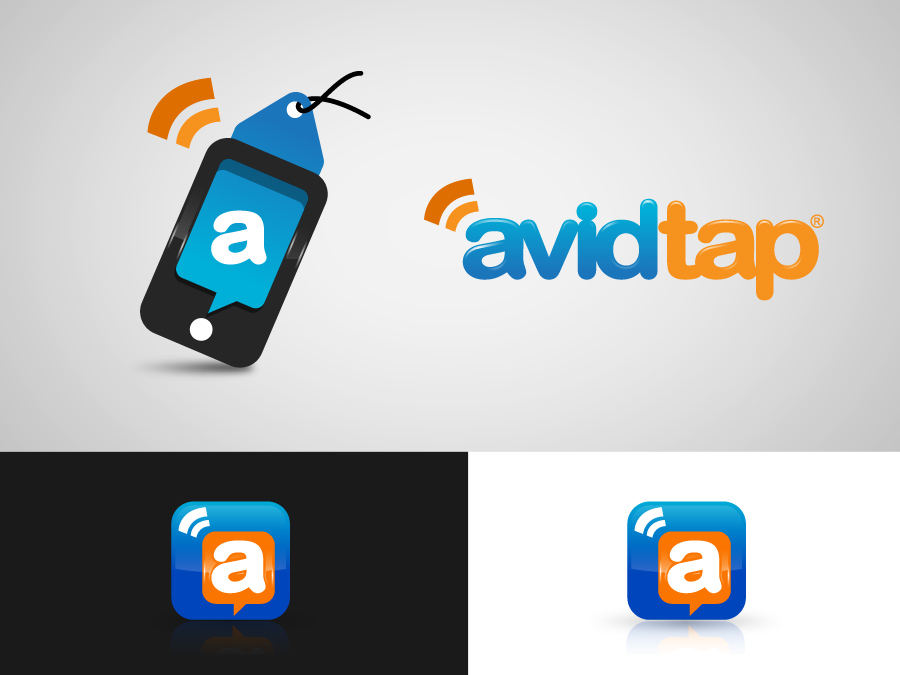Logo Design by jpbituin - Entry No. 139 in the Logo Design Contest Imaginative Logo Design for AvidTap.